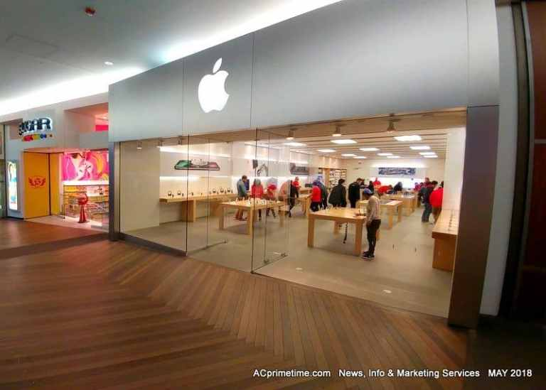 APPLE To Close Atlantic City Store Due to Tourism & Visitor Decline