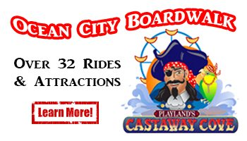 Ocean City Boardwalk Amusements castaway cove