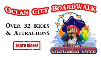 Ocean City Boardwalk Amusements castaway cove