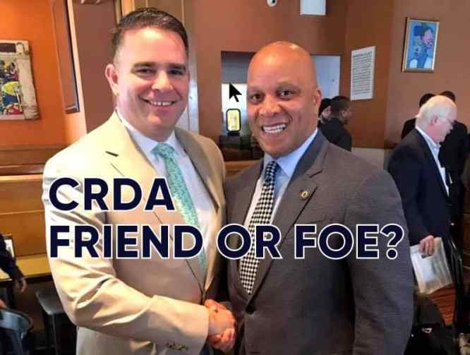 Current CRDA Chief, Matt Doherty & Atlantic City Mayor Gilliam