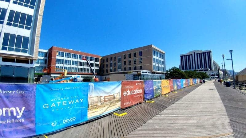 Stockton Atlantic City Boardwalk