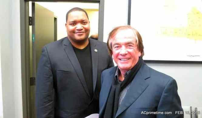 Atlantic City Council Prez Marty Small & Glenn Straub