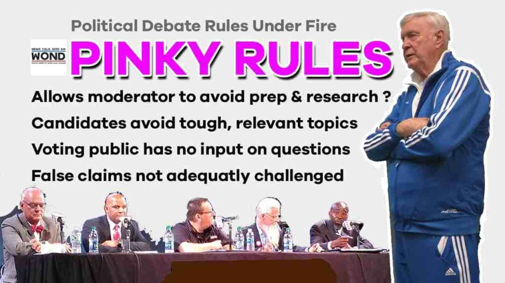 WOND pinky rules marty small tom foley debate
