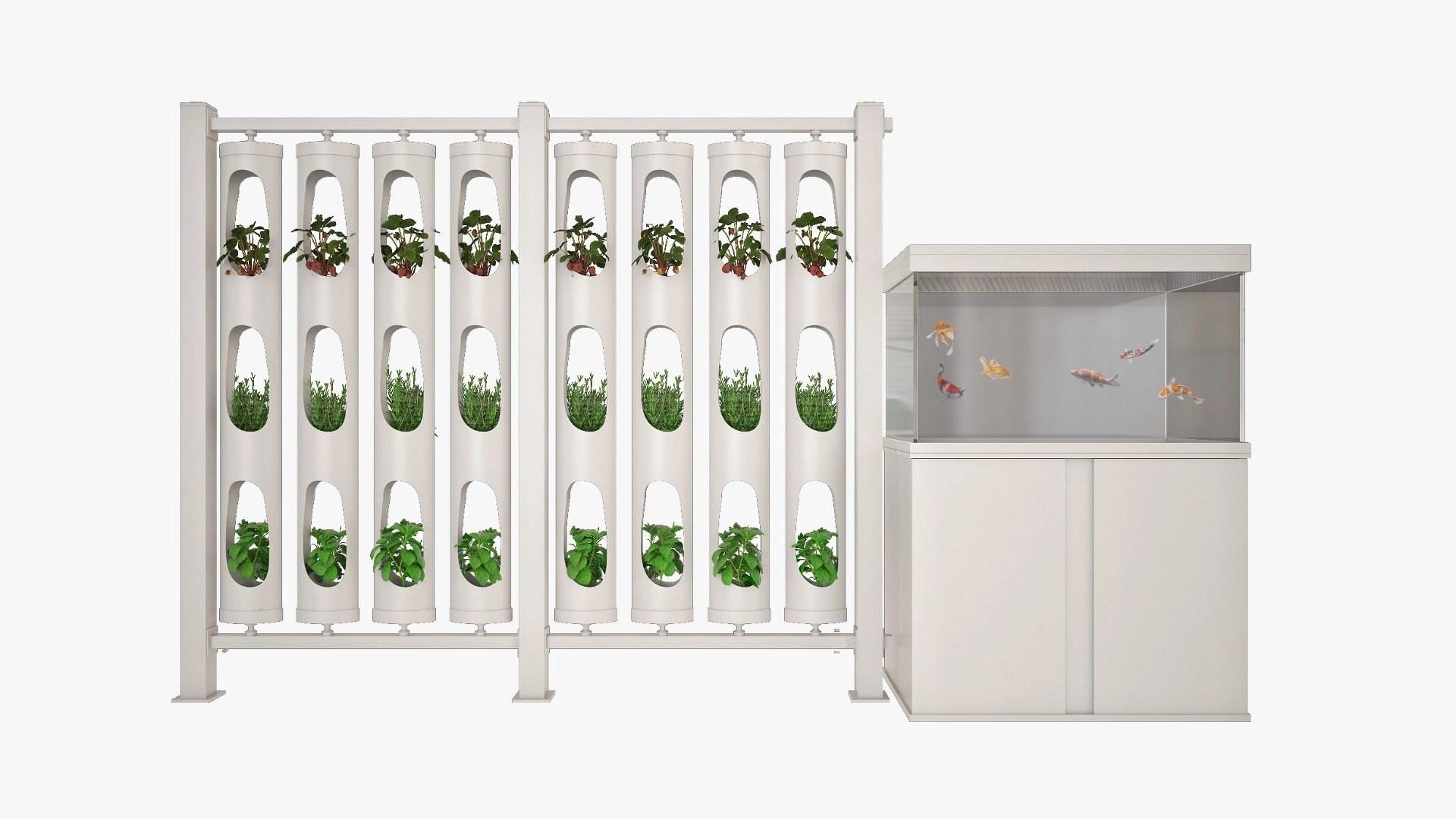 Ponics impianto acquaponica, sistema modulare, acquista ora su acquaponica.blog