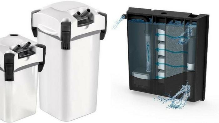 filtro esterno vs filtro interno
