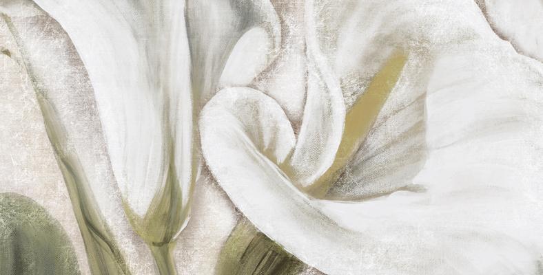 quadro su tela moderno calle floreale montmartre