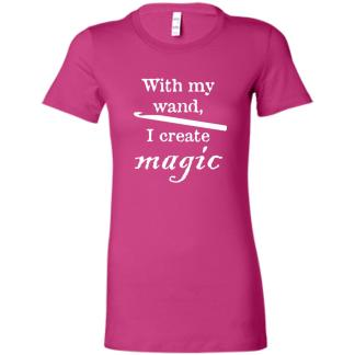 Crochet hook magic wand favorite t-shirt