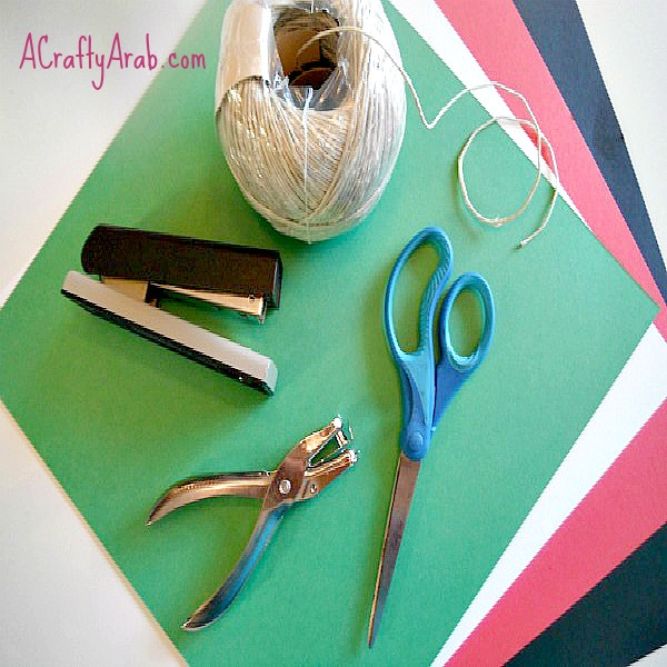 A Crafty Arab Syrian Pinwheel Flag Tutorial