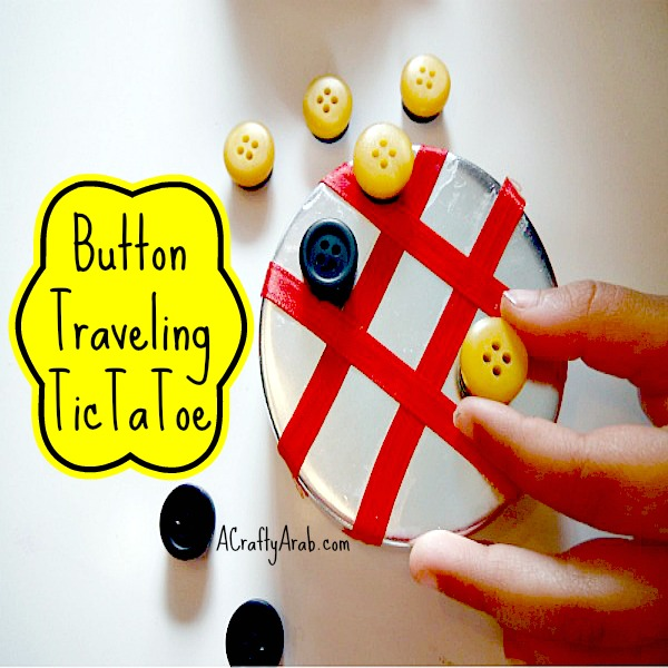 ACraftyArab Button TicTacToe Traveling Tutorial