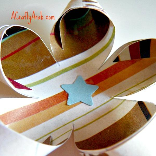 ACraftyArab Curled Star Eid Gift Tag9