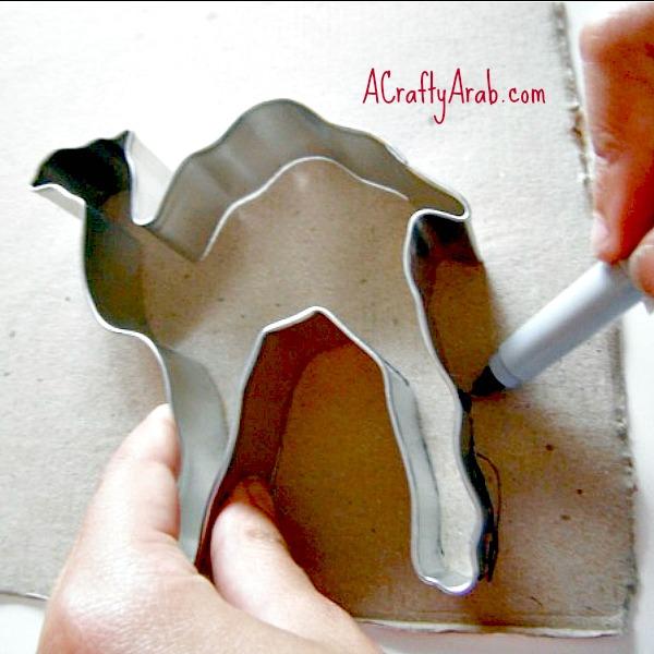 ACraftyArab Eid Camel Gift Bag1