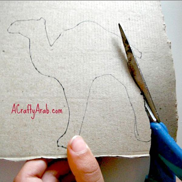 ACraftyArab Eid Camel Gift Bag2