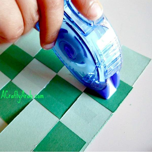 ACraftyArab Ketupat Card Tutorial