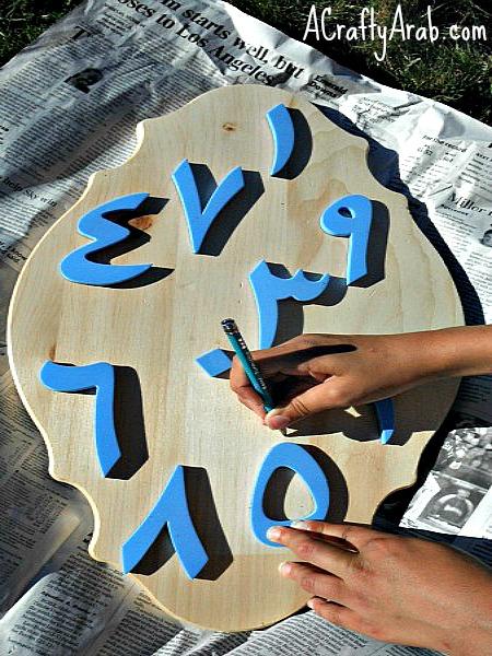 ACraftyArab Arabic Numbers Toss2