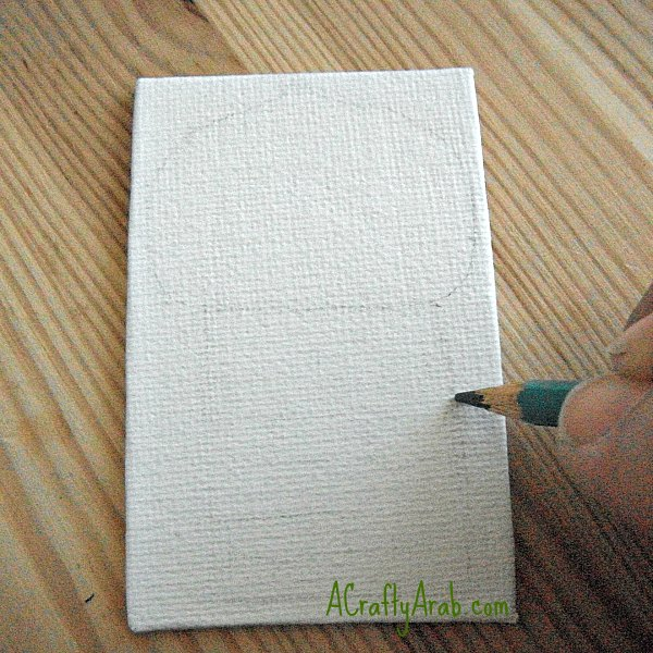 ACraftyArab.com Mini Canvas Minarets Tutorial