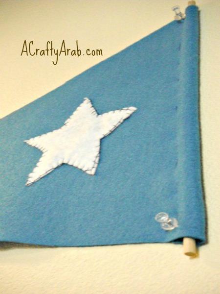 ACraftyArab Somali Flag Pennant9