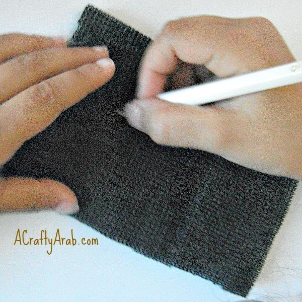 ACraftyArab Woolly Sheep Eid Mubarak Card Tutorial