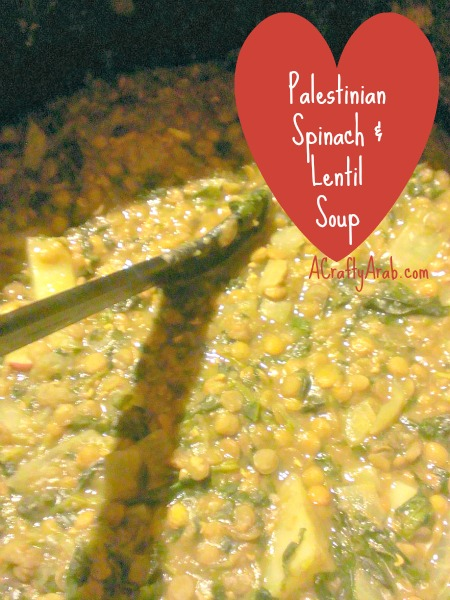 A Crafty Arab Spinach And Lentil Soup Recipe