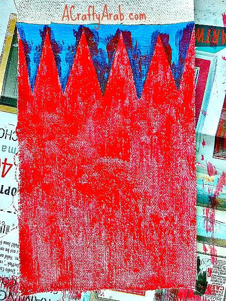 ACraftyArab Bahraini Flag Crayon Holder3