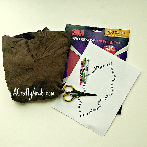 ACraftyArab Arabesque Sandpaper Shirt1