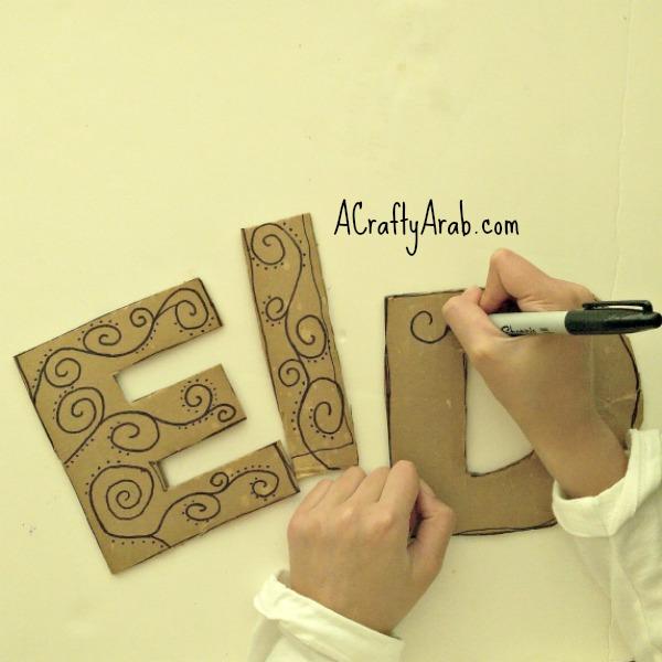 ACraftyArab Eid Foil Decor4