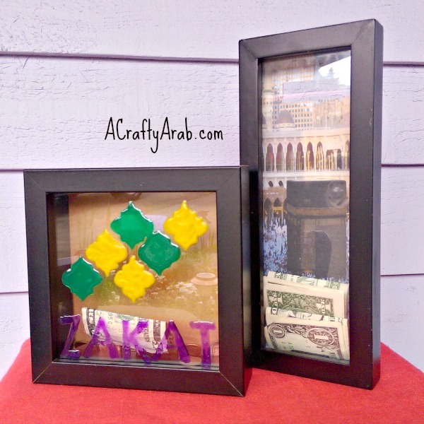 ACraftyArab Hajj Shadowbox Savings Bank6