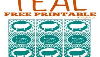Arabic Happy New Year 2017 {Printable} - A Crafty Arab