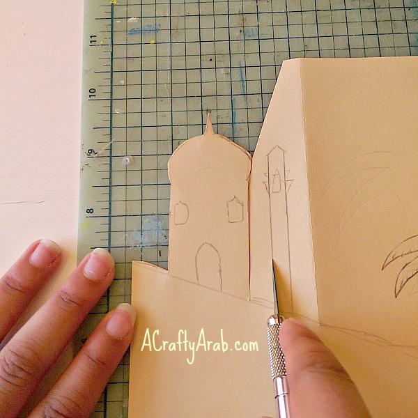 ACraftyArab Quad Eid Mubarak Card7