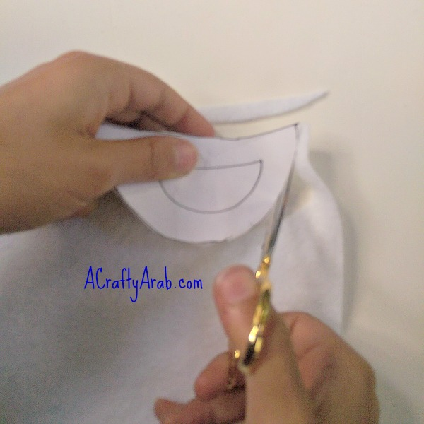 ACraftyArab Salam Dove Hair Clip4