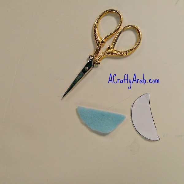 ACraftyArab Salam Dove Hair Clip5