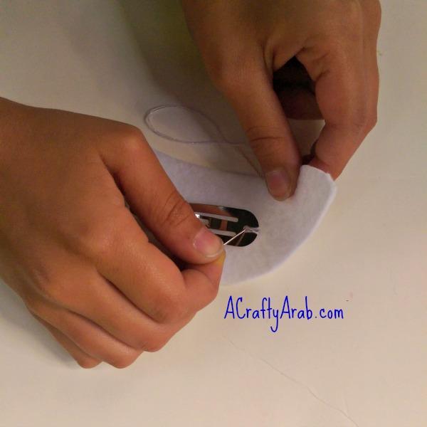 ACraftyArab Salam Dove Hair Clip6