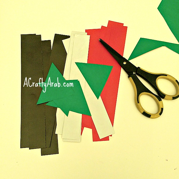ACraftyArab Sudan Flag Lantern2