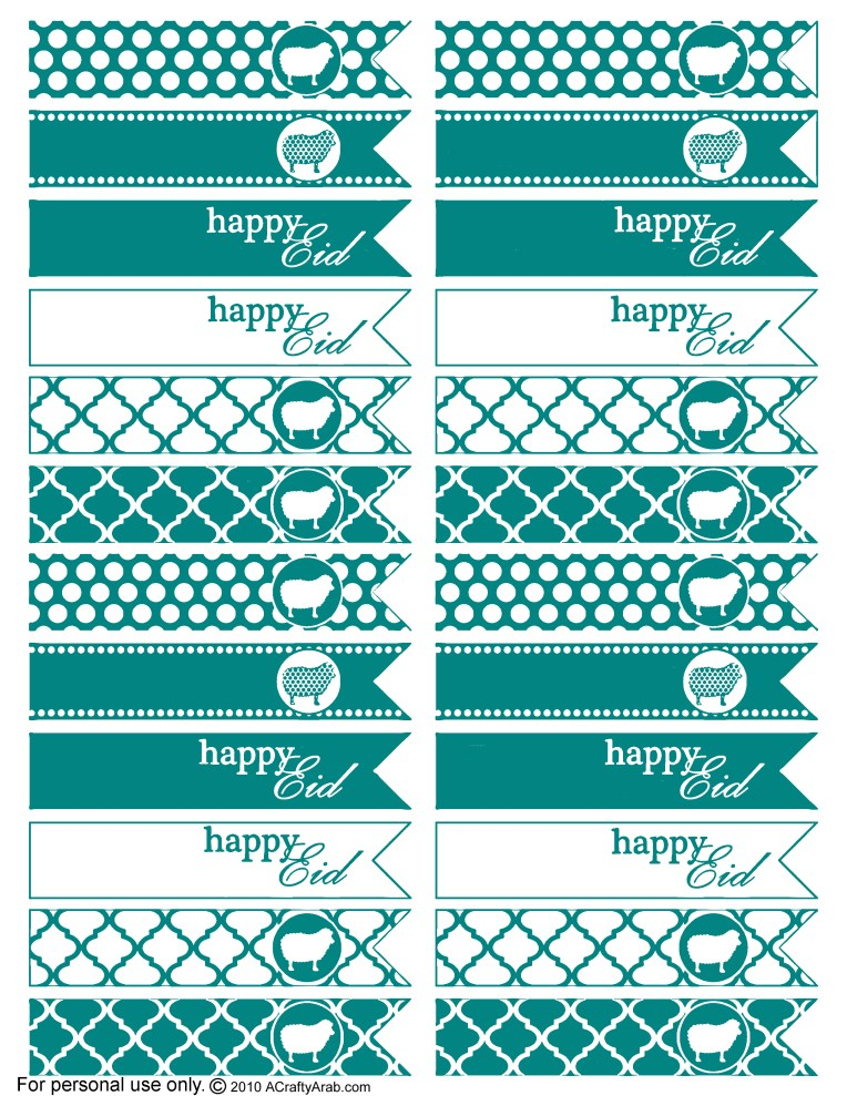 Teal - Flags signs