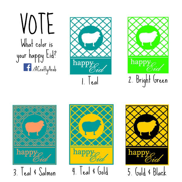 Vote for Your Happy Eid copy