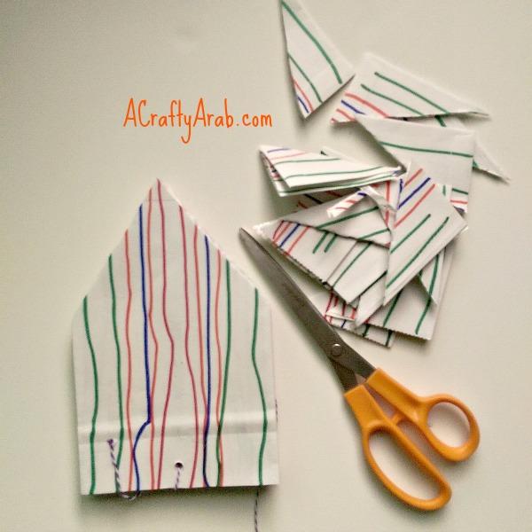 ACraftyArab Hanging Paper Bag Khatam6