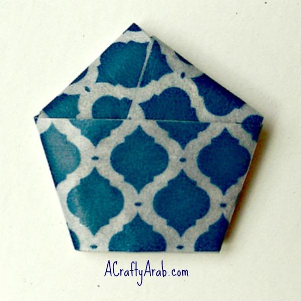 ACraftyArab Origami Star Eid Necklace4