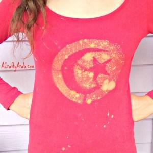 Tunisian Flag Bleach Tshirt