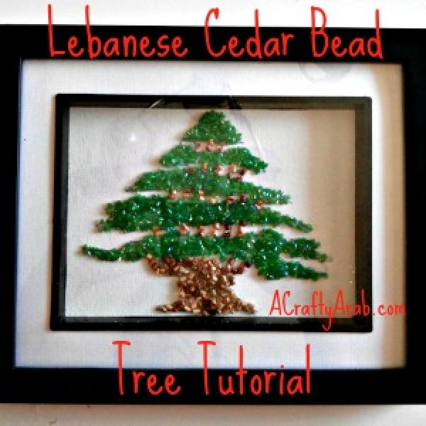 ACraftyArab Lebanese Cedar Bead Tree