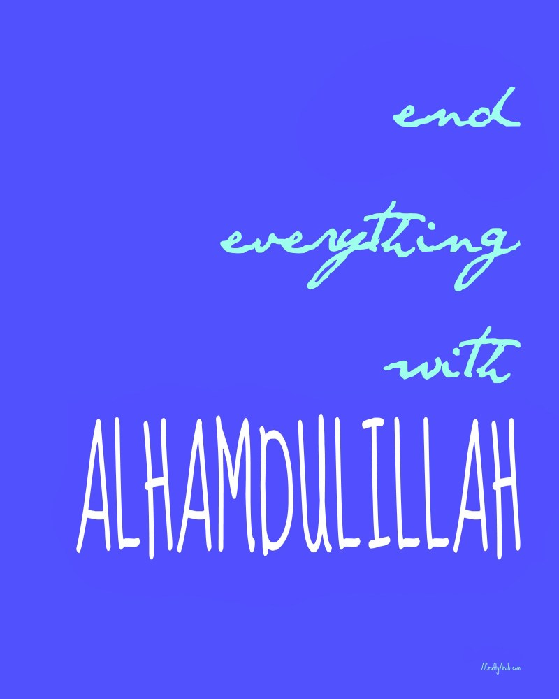 ACraftyArab End Everything with Alhamdullial