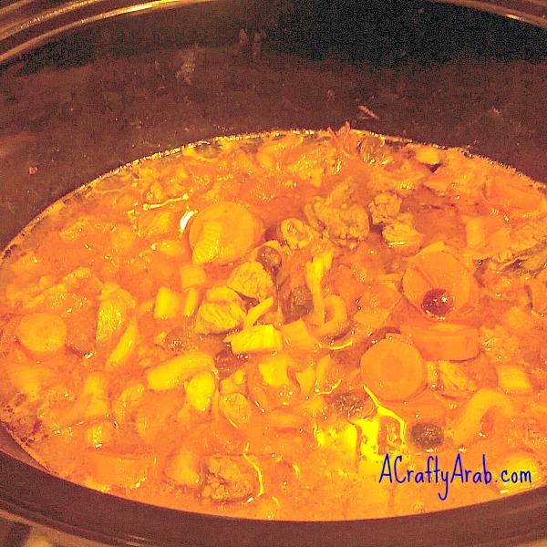 ACraftyArab Moroccan Stew Recipe