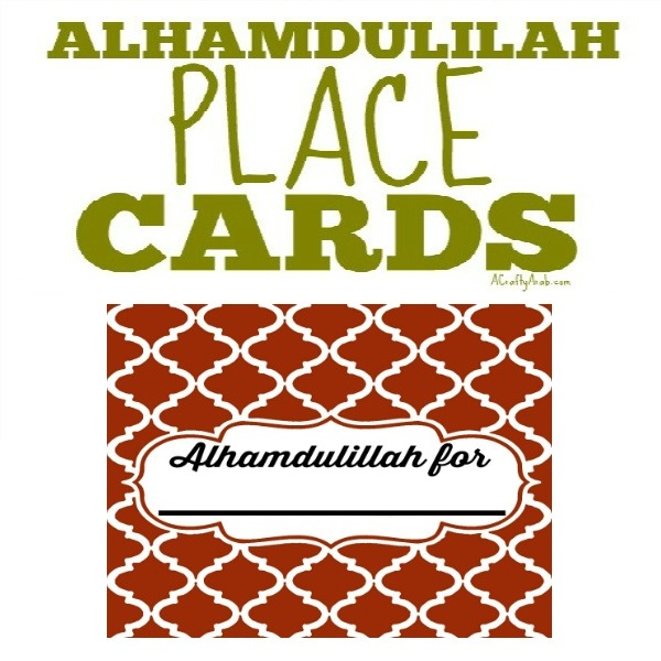 Alhamdulillah place cards printable a crafty arab thecheapjerseys Choice Image