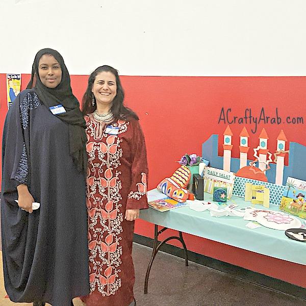 Eat wtih Muslims co-Founder Ilays Aden and ACraftyArab Founder Koloud 'Kay' Tarapolsi