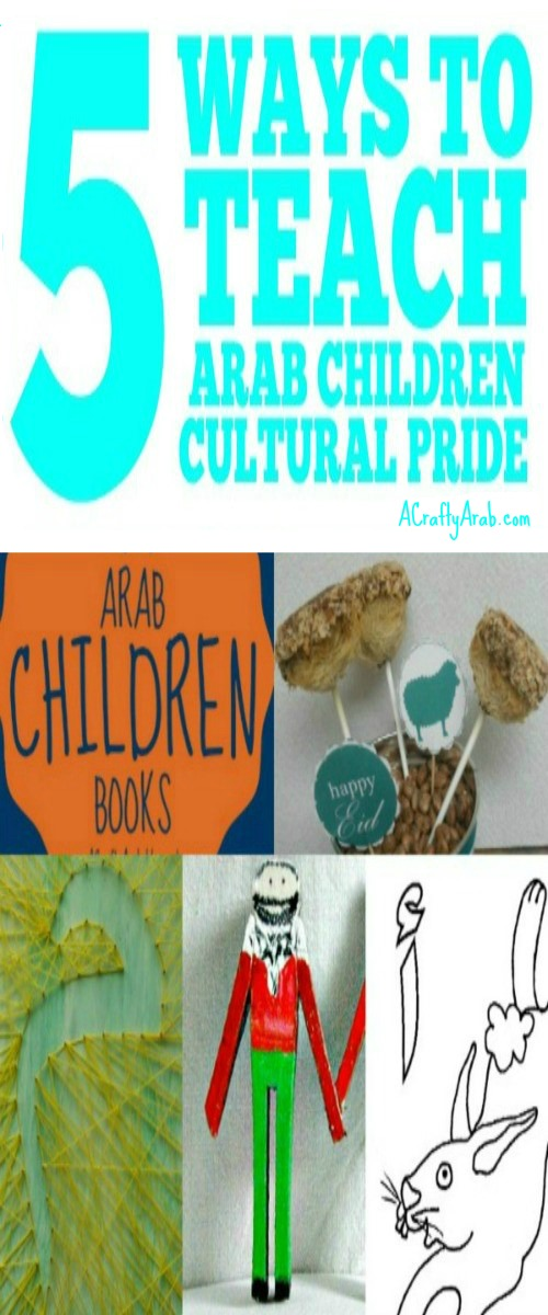 5 ways to teach Arab children cultural pride pin