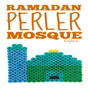 mosque craft, children, islam, muslim