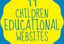 99 Children Educational Websites {Resource}