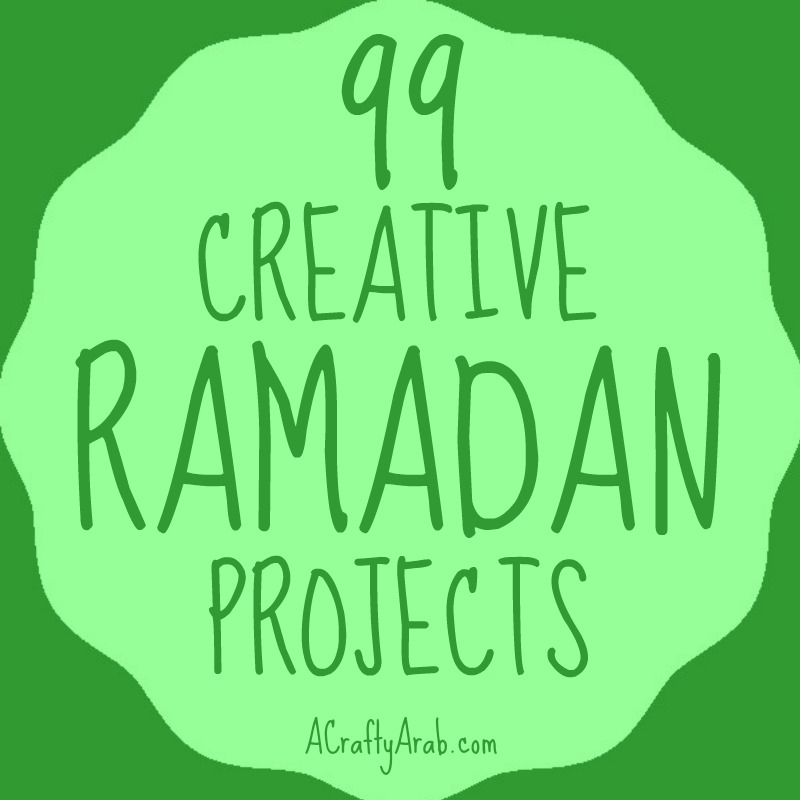 Ramadan craft projects, islam, muslim, children, diy, tutorial