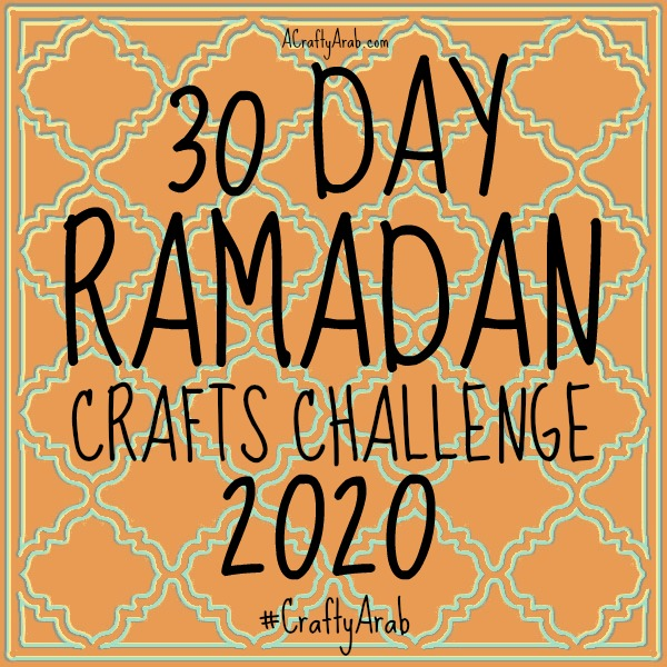 ramadan crafts, islam, muslim, children, diy, tutorial