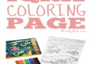 Iqra Coloring Page {Printable} Plus Review