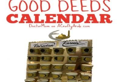 Ramadan Good Deeds Calendar {Tutorial} Guest Post