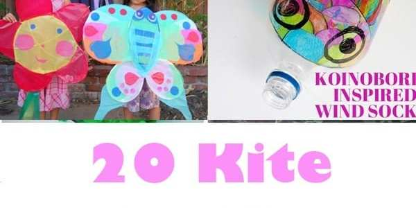Kite Crafts For Kids Have Fun Outdoors A Crafty Life